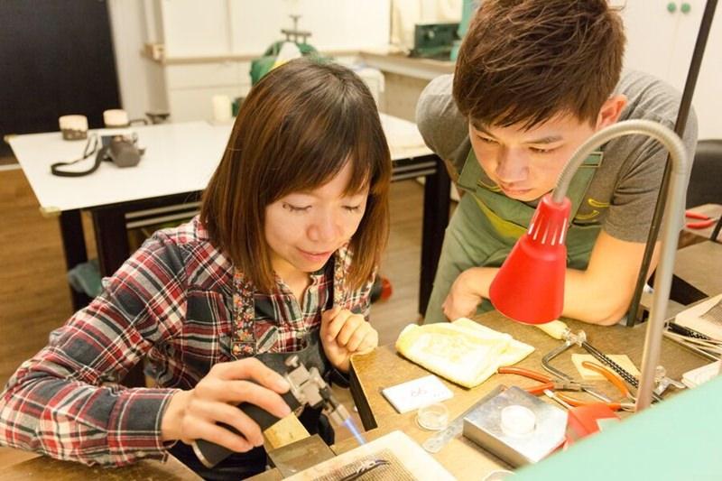 2015 12 30 092315 76 - [熱血採訪]Chichic七柒 金工 自己DIY項鍊手環與戒指 送禮超適合