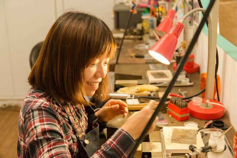 2015 12 30 093809 44 - [熱血採訪]Chichic七柒 金工 自己DIY項鍊手環與戒指 送禮超適合