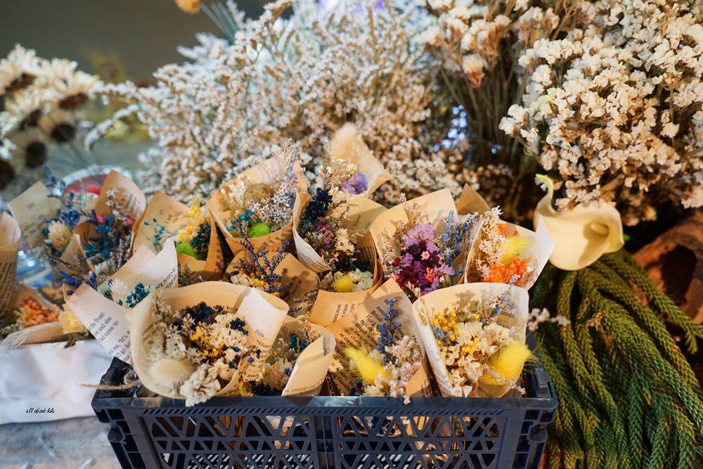 20161008103307 76 - 台中西區 弎學植務所 乾燥花環繞的平日限定下午茶 還可以手作DIY迷你花束