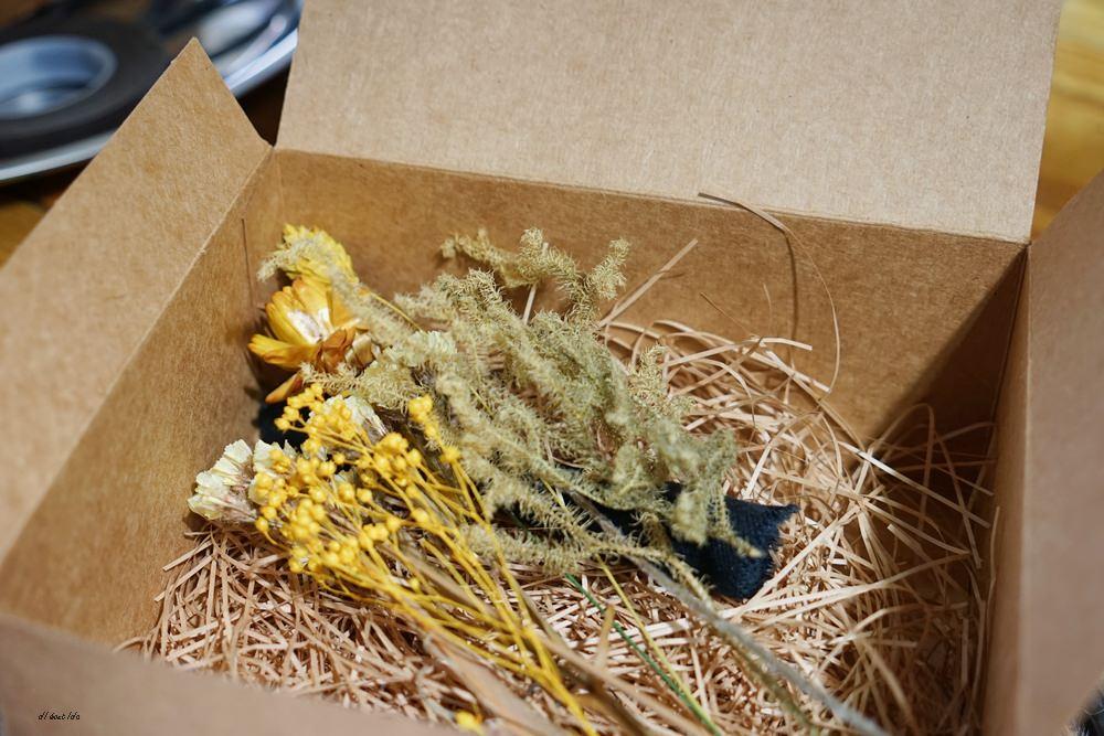 20161008103349 93 - 台中西區 弎學植務所 乾燥花環繞的平日限定下午茶 還可以手作DIY迷你花束
