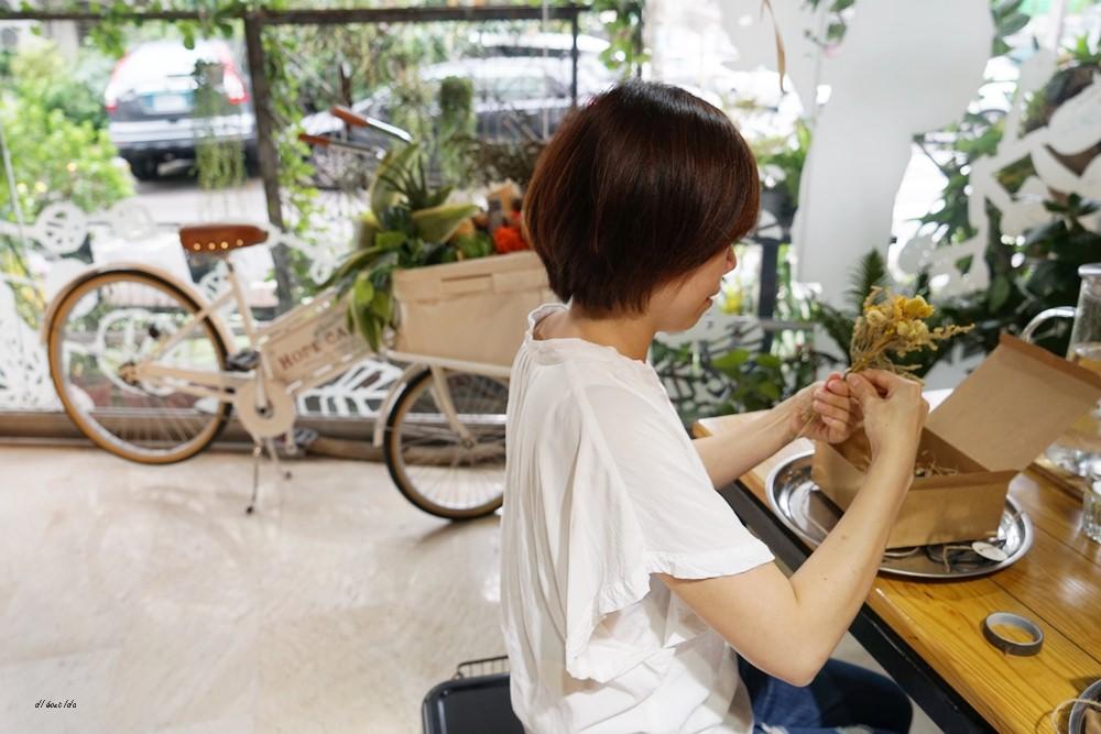20161008103354 16 - 台中西區 弎學植務所 乾燥花環繞的平日限定下午茶 還可以手作DIY迷你花束
