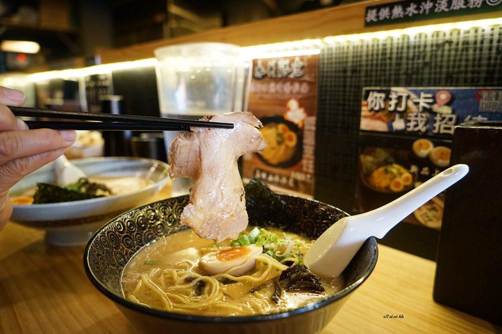 20170205103421 44 - 台中烏日 狸匠拉麵 日本風的濃厚豚骨拉麵 無限供應的小菜也好吃推薦