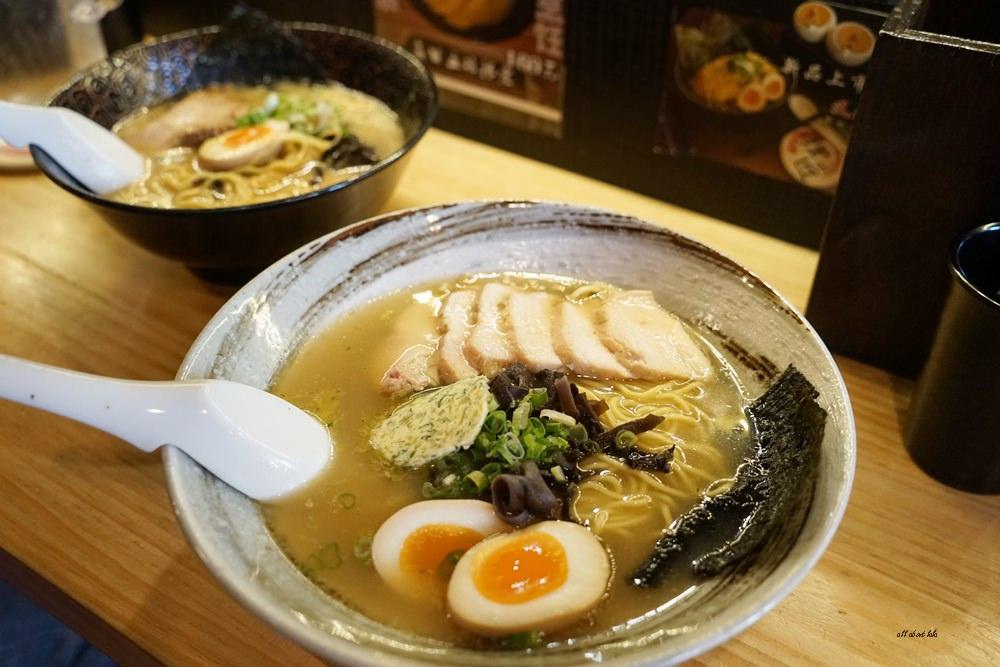 20170205103432 13 - 台中烏日 狸匠拉麵 日本風的濃厚豚骨拉麵 無限供應的小菜也好吃推薦