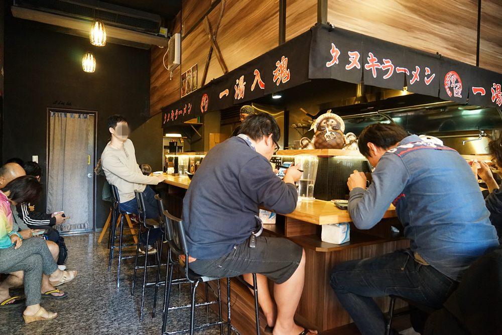 20170205103457 94 - 台中烏日 狸匠拉麵 日本風的濃厚豚骨拉麵 無限供應的小菜也好吃推薦