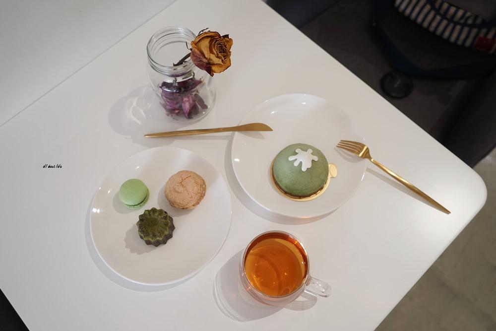 20170908113415 17 - 法式甜點推薦︱花火甜點工場 北屯區的下午茶 丸久小山園抹茶