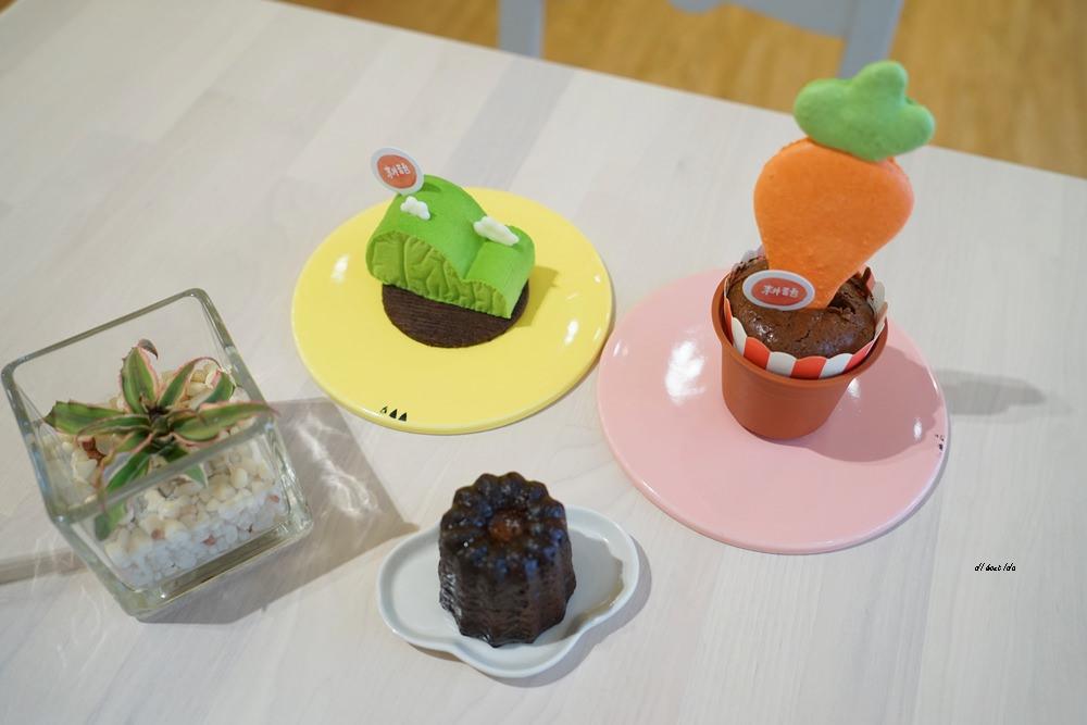 20170927113410 97 - 台中西區│耕者有其甜 向上市場美食 超可愛的下午茶甜點