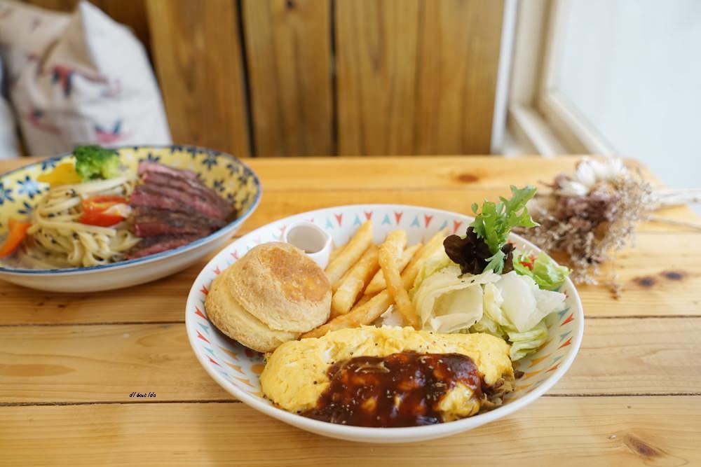 20170928145840 13 - 台中西區|肆月捌 X Dakuaidai甜室 有溫度的老屋餐廳 舒肥牛排好吃不貴