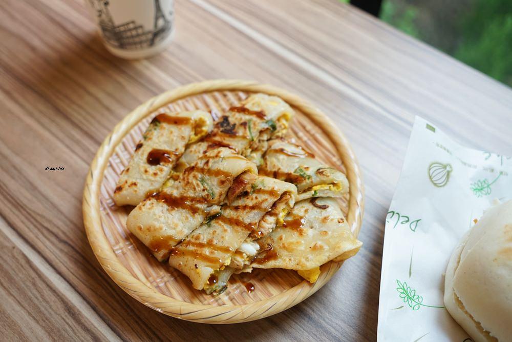 20171217172354 6 - 芋頭控照過來 八燔殿日安朝食處 碳烤芋頭肉鬆饅頭 自製QQ蛋餅皮好好吃