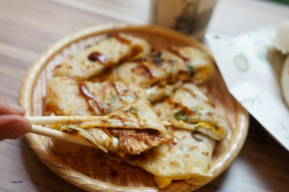 20171217172357 27 - 芋頭控照過來 八燔殿日安朝食處 碳烤芋頭肉鬆饅頭 自製QQ蛋餅皮好好吃