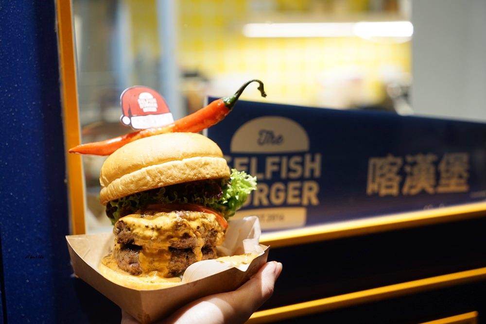 20171226182105 86 - 熱血採訪│台中UNO貨櫃市集 Selfish Burger喀漢堡 牛排等級的漢堡肉