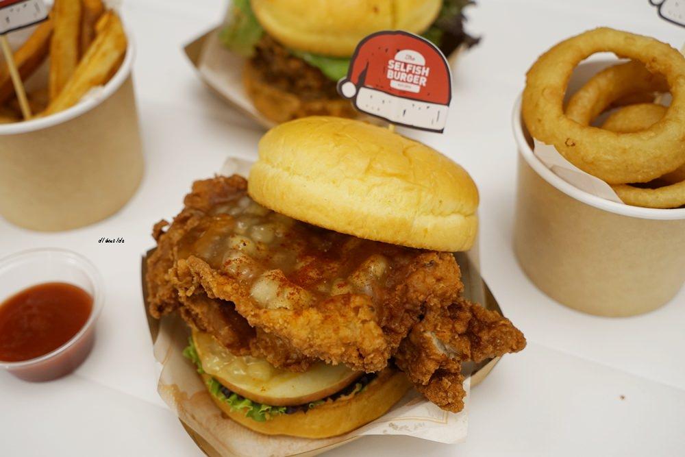20171226182112 63 - 熱血採訪│台中UNO貨櫃市集 Selfish Burger喀漢堡 牛排等級的漢堡肉