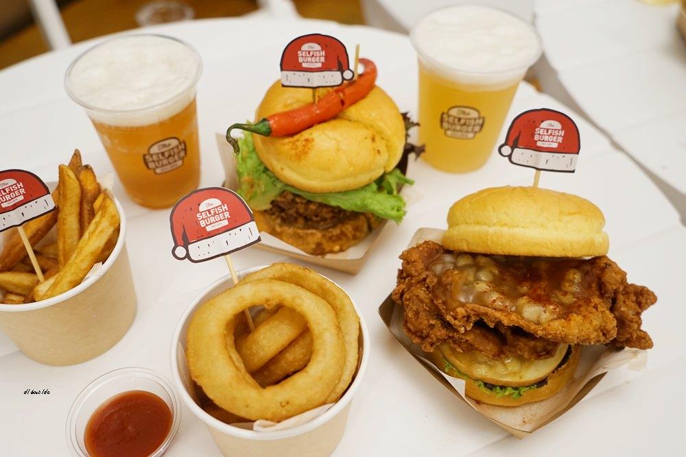 20171227104602 74 - 熱血採訪│台中UNO貨櫃市集 Selfish Burger喀漢堡 牛排等級的漢堡肉