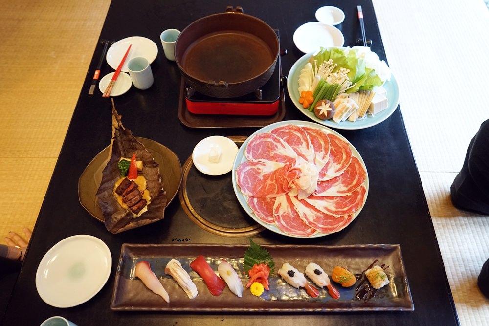 20180102160228 28 - 熱血採訪│SONO園日本料理30周年,親民價就能吃到大和套餐,還有期間限定日本歌舞伎美學表演!