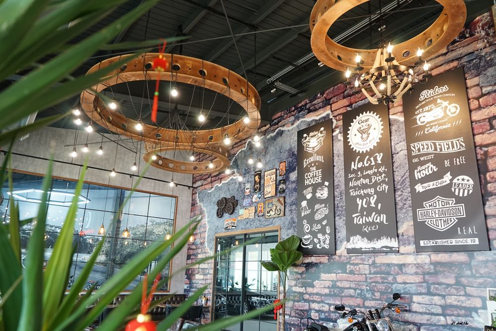20180322164646 77 - 台中南屯|哈雷重機主題咖啡館 Gear moto coffee shop 極美!!