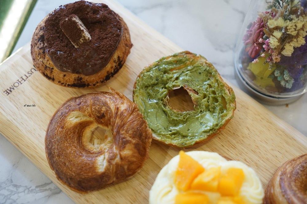 20180613204543 62 - 一中美食︱創意丹麥麵包 有爆漿珍珠奶茶口味 啡嚐丹麥-現烤可拿滋