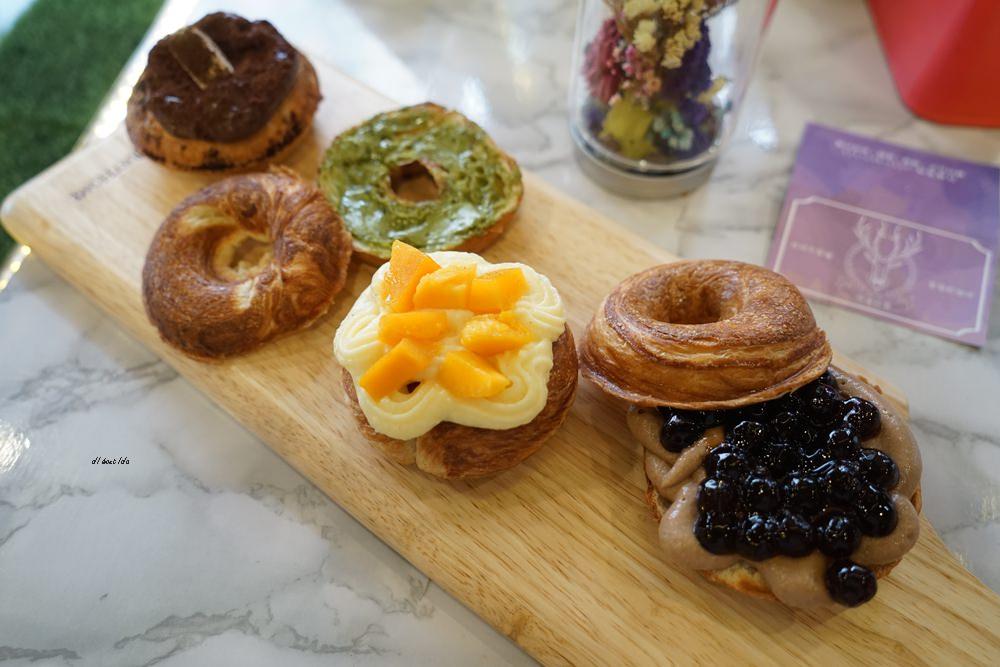 20180613204547 43 - 一中美食︱創意丹麥麵包 有爆漿珍珠奶茶口味 啡嚐丹麥-現烤可拿滋