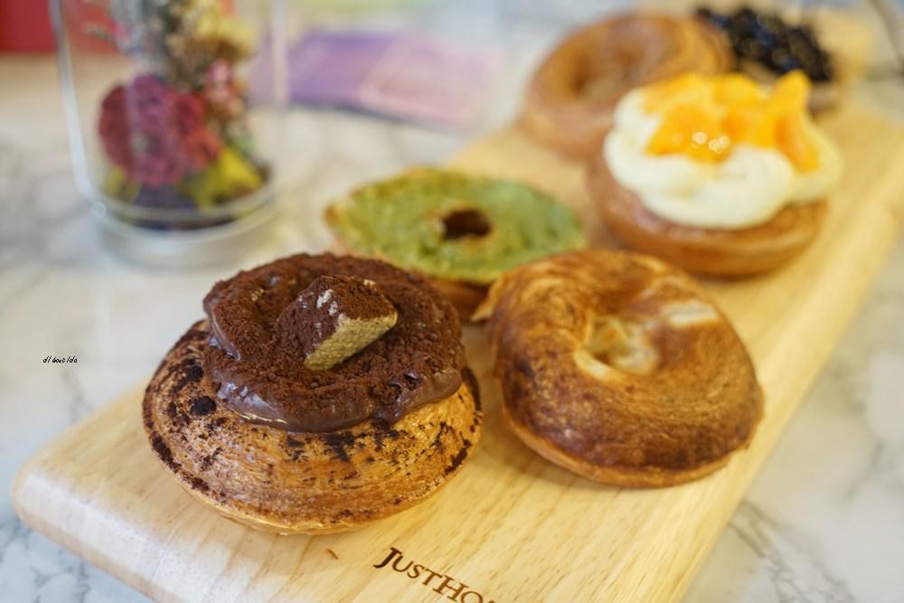20180613204550 13 - 一中美食︱創意丹麥麵包 有爆漿珍珠奶茶口味 啡嚐丹麥-現烤可拿滋