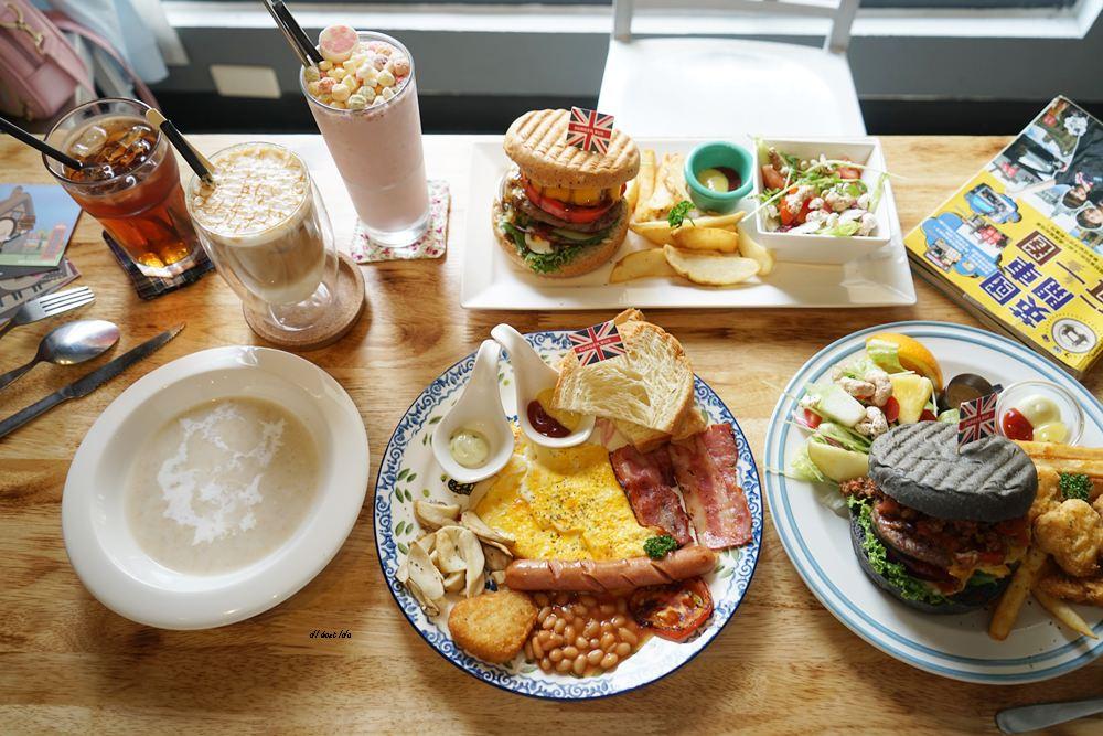 20180629093322 64 - 熱血採訪︱漢堡巴士 清爽的英式漢堡 道地英倫風格的好吃早午餐