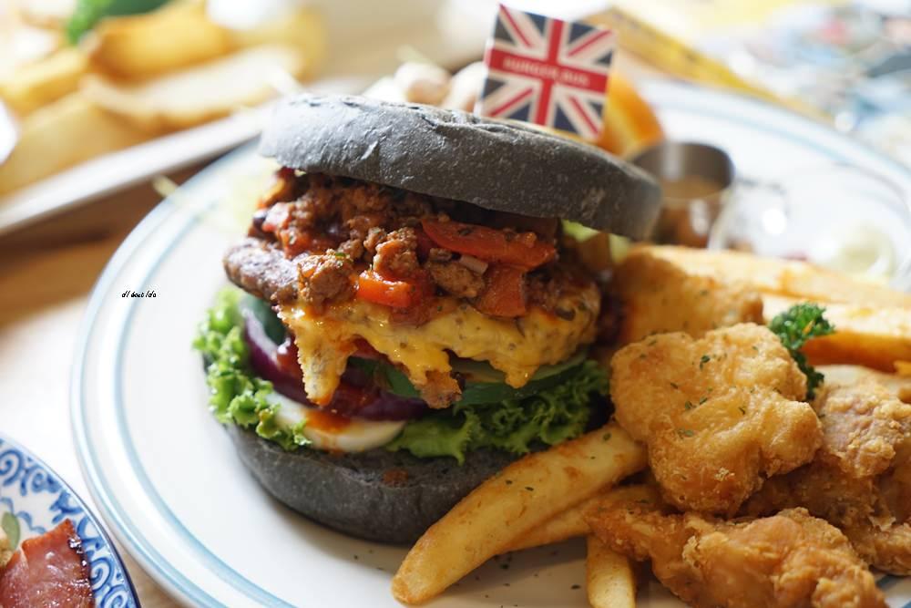 20180629093336 6 - 熱血採訪︱漢堡巴士 清爽的英式漢堡 道地英倫風格的好吃早午餐